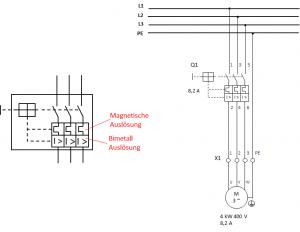 Motorschutzschalter mit Musterschaltung 300x232 - Schutz elektrischer Motoren