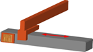 Prismatic or sliding joint P 2 - axis