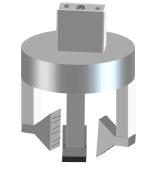 robot 3-finger gripper