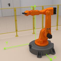 Robot world coordinate system