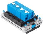 pneumatic control block
