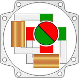 Permanent magnet stepper motor
