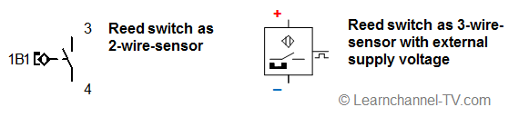 Symbol - Reed switch