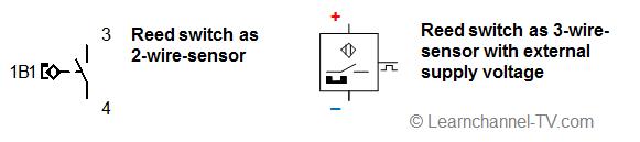 Symbol - Reed switch