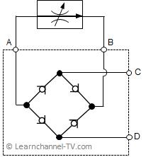 Graetzschaltung bzw. Stromgleichrichter als fertiges Modul