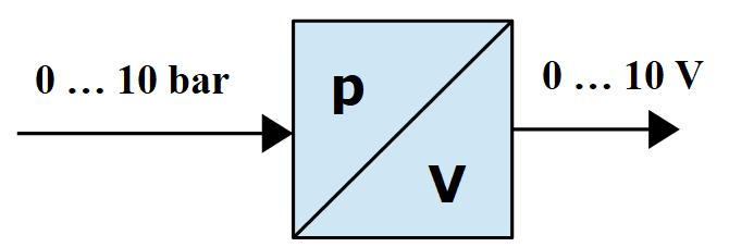 Analog Sensor with Voltage output signal