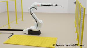 Robot Safety Device - pressure sensitive matt