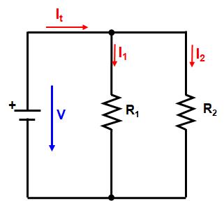 Resistores - ligação em paralelo